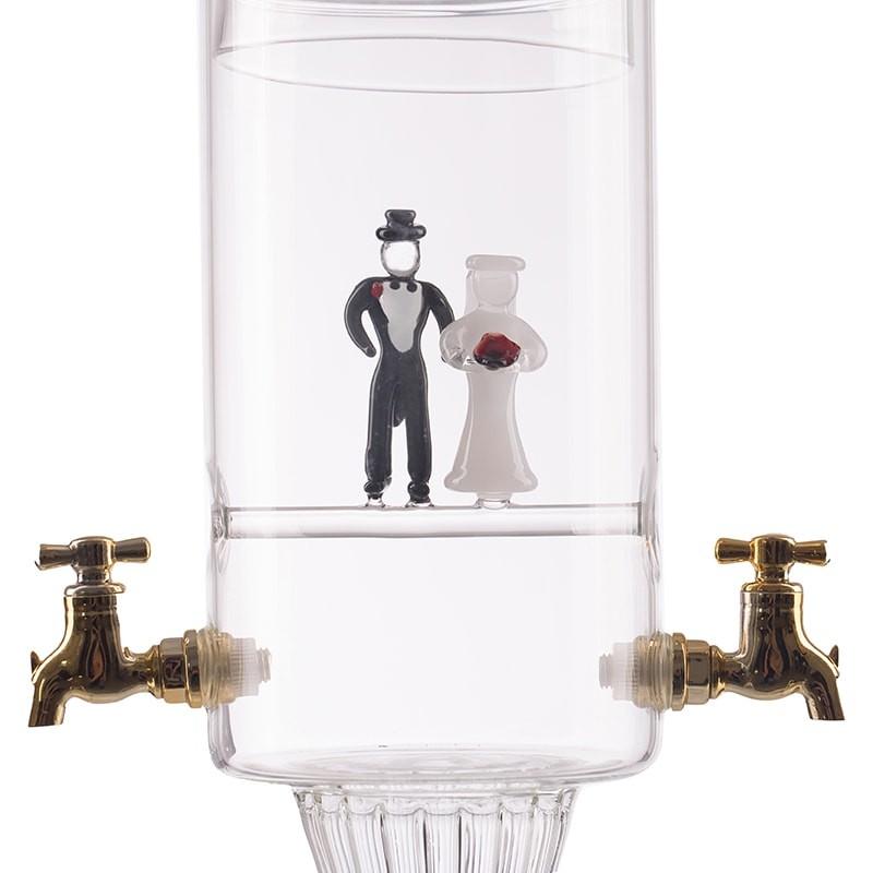 Fantana mire si mireasa cu 2 robineti