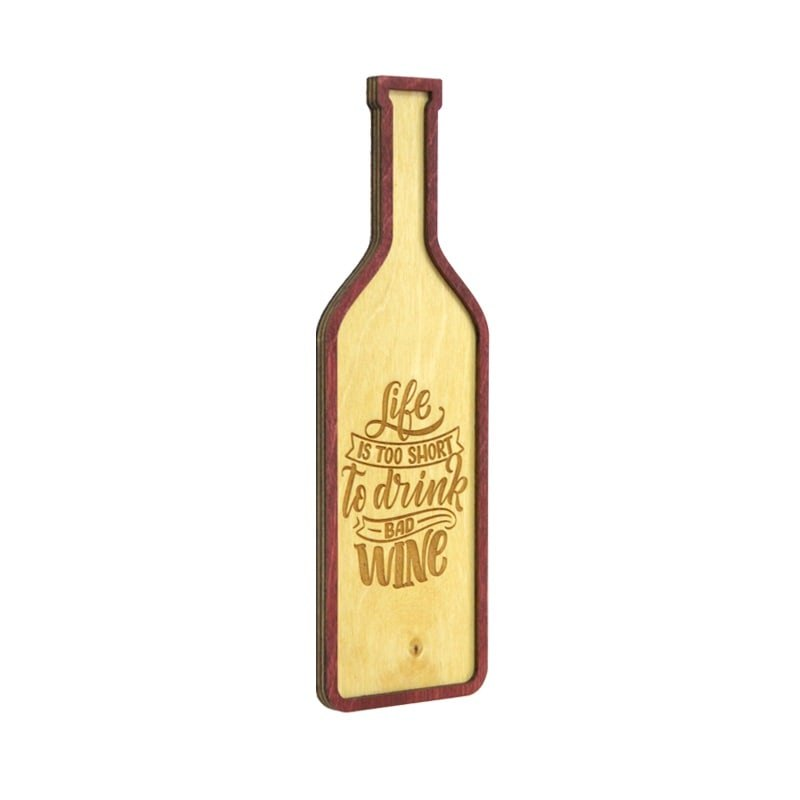 Tablou To Drink Bad Wine