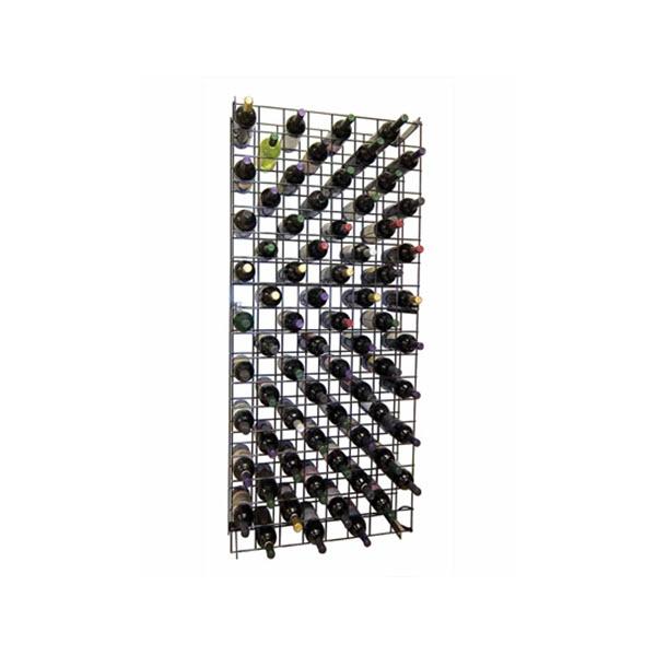 Raft metalic retea pentru 152 sticle