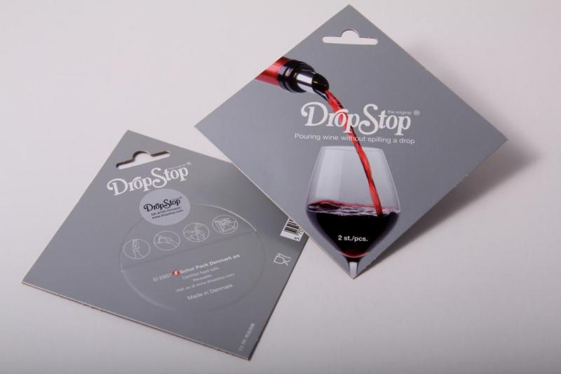 Set 2 DropStop - antipicurator vin