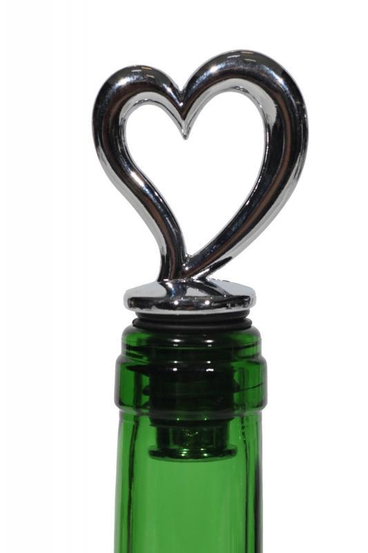 Dop decorativ inima sticla vin