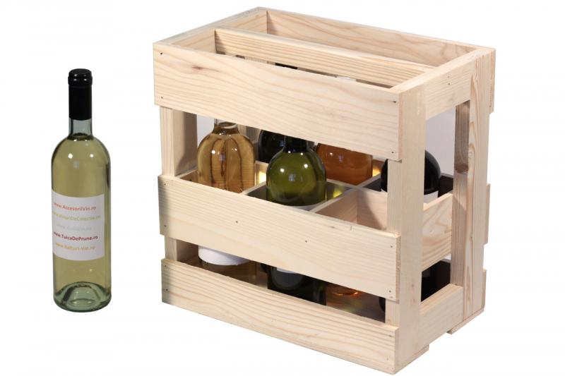Naveta 6 sticle vin
