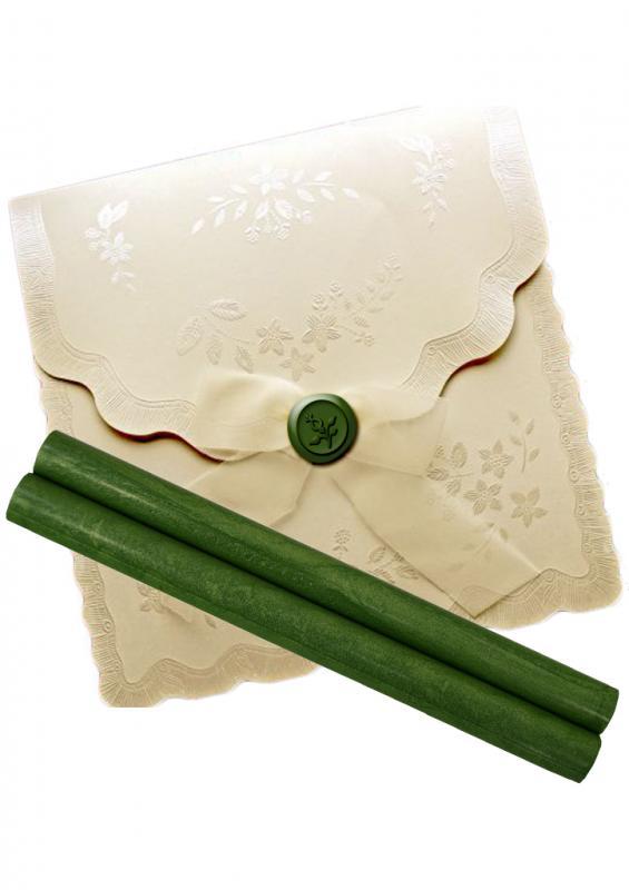Baton ceara verde pentru sigilii