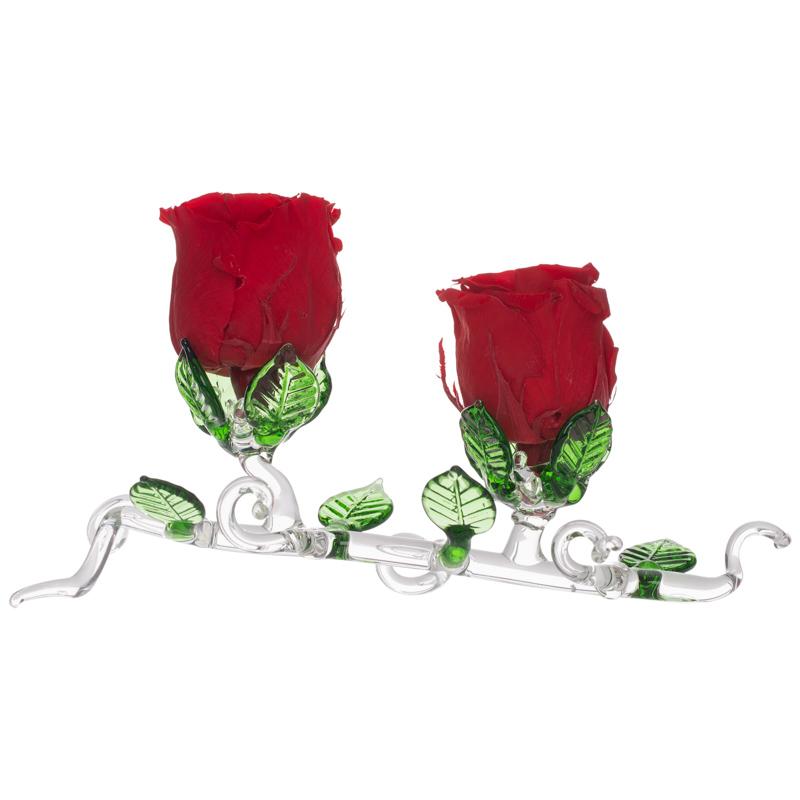 Suport forma crenguta pentru trandafiri