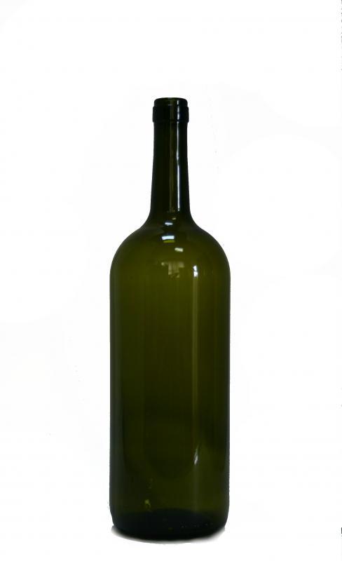 Sticla magnum verde
