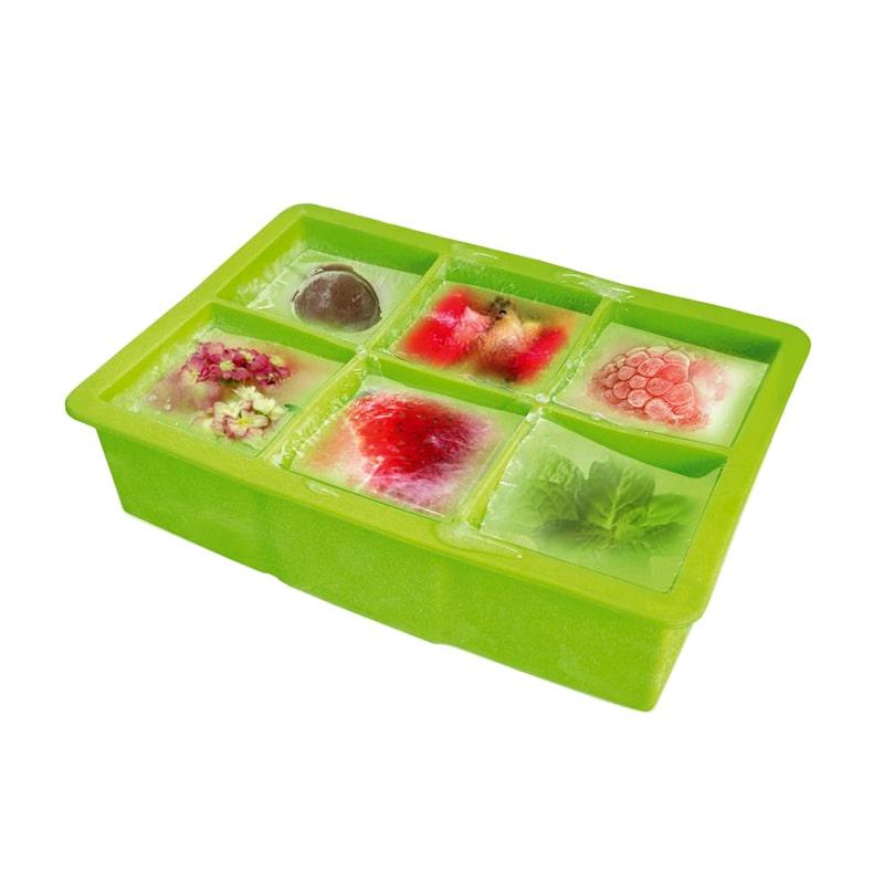 Tava silicon pentru cuburi gheata
