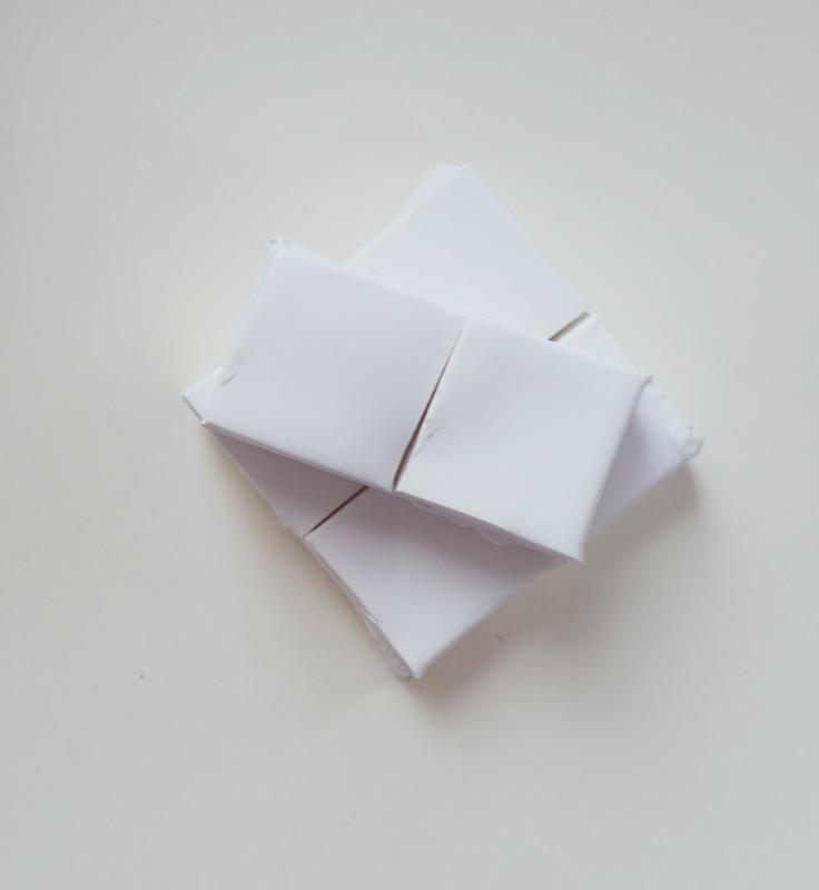 Ceara sintetica alb mat (500g)
