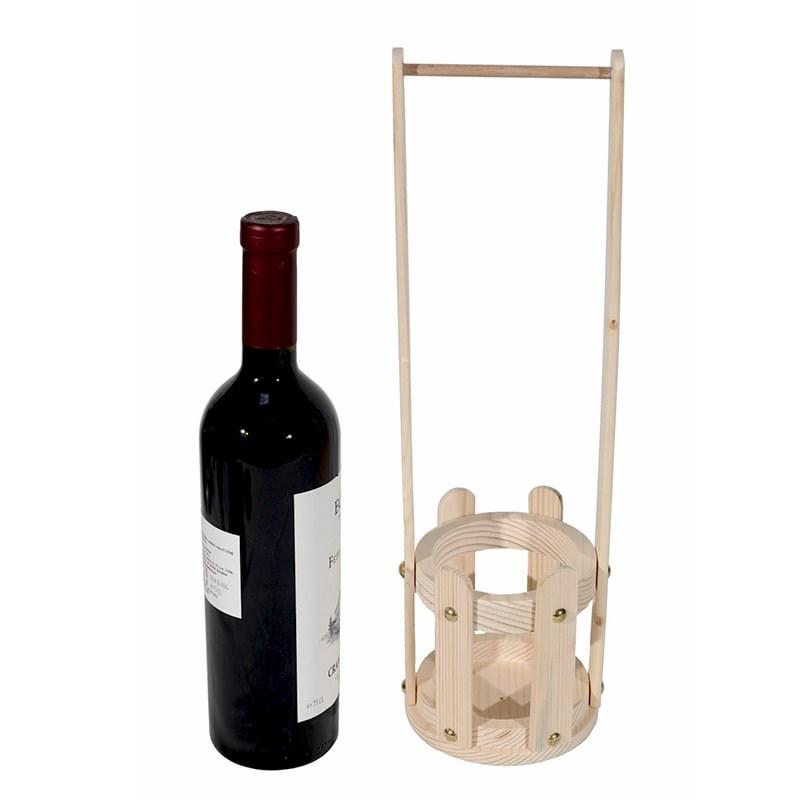 Suport cos pentru sticla vin
