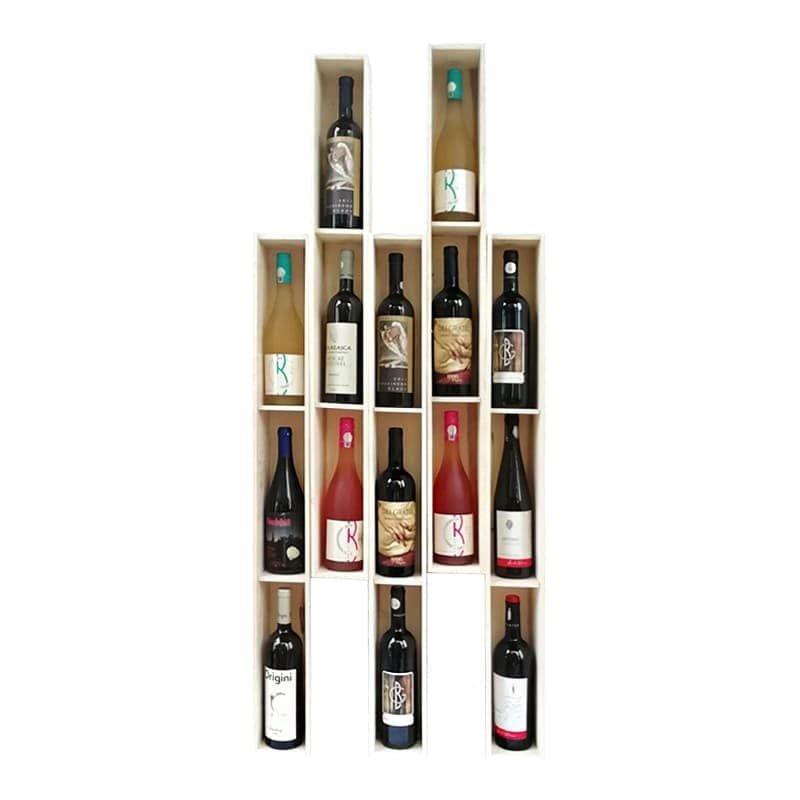 Cutie lemn Vin la metru