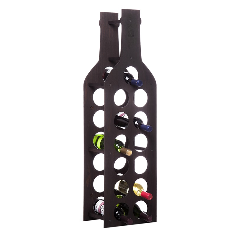 Raft Wine House negru 13 sticle vin