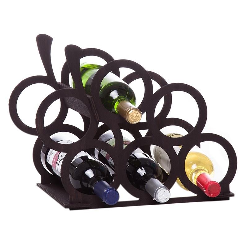 Raft strugure negru 6 sticle vin