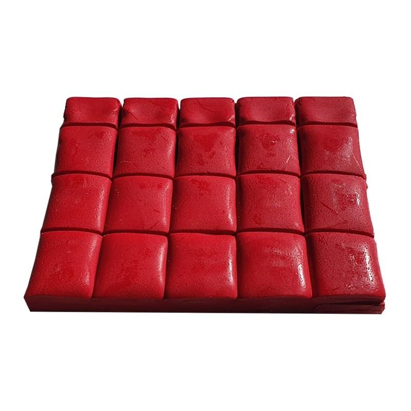 Ceara sintetica stralucitoare rosie (500 gr)