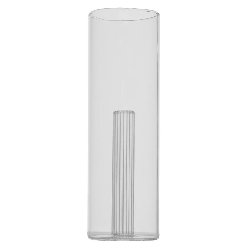 Vaza cilindrica cu tub striat