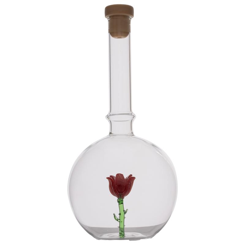 Balon cu trandafir