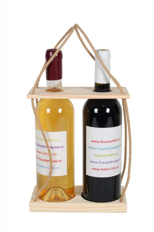 Suport sticle vin Duo